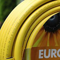 """Шланг садовый диаметр 3/4"""" длина 50м стойкий к ультрафиолету и механическим воздействиям Италия желтый"""