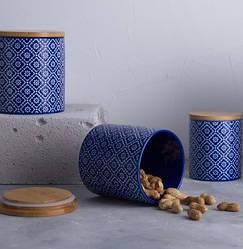 Керамічна з бамбуковою кришкою Limited Edition Freya 700 мл