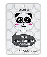 Очищаюча маска для обличчя «Панда» Puorella Whitening Mask Pack