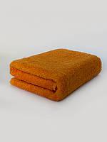 Махровое полотенце для рук оранжевое, 40*70 см, Туркменистан, 430 гр\м2
