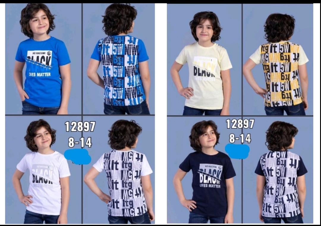 Футболки для мальчиков 8-14 лет  (128-164 рост (