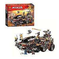 """Конструктор Ninja Bela 10939 (аналог Lego Ninjago 70654) """"Стремительный странник"""", 1230 дет"""