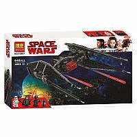 Конструктор Bela 10907 'Истребитель TIE Кайло Рена' ( Star Wars 75179), 648 дет
