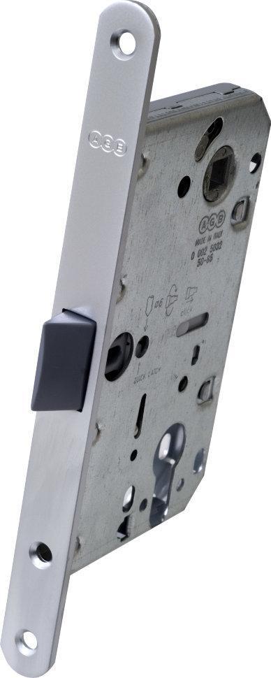 """Механізм під циліндр Mediana AGB """" Evolution B011035034 матовий хром 85мм (16641)"""