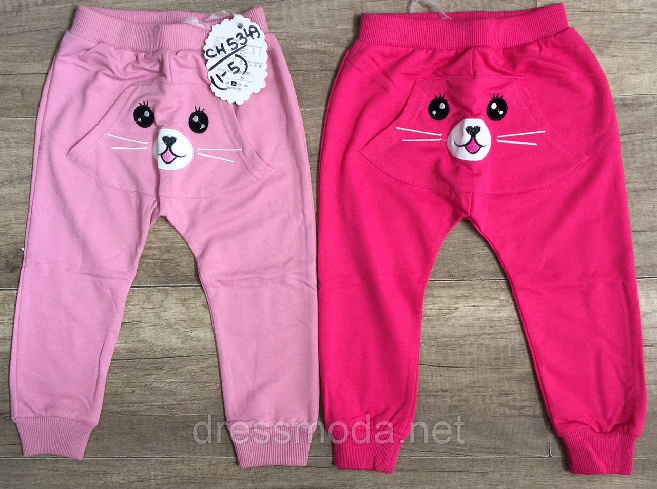 Спортивные брюки для девочек S&D 1-5 лет