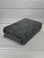Махровое полотенце для рук серый, 40*70 см, Туркменистан, 430 гр\м2