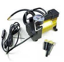 Портативный автомобильный компрессор от прикуривателя AIR PUMP 12V (LARGE SINGLE BAR GAS PUMP), автокомпрессор
