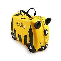 Детский дорожный чемоданчик TRUNKI BEE BERNARD (пчела BERNARD) TRU-B044