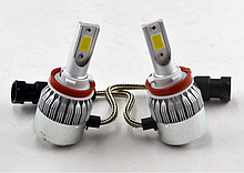 Светодиодные лампы для авто LED C6 H11 6500K  ближний/дальний/противотуманки, Автолампы в Украине