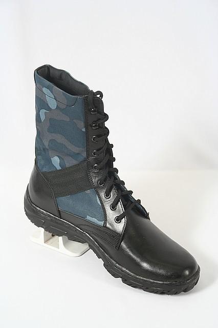 Полевые камуфлированные  облегчённые ботинки с высокой берцей