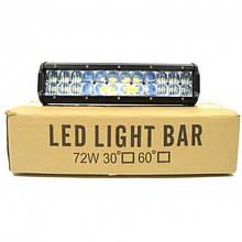 Автофара балка LED на крышу (24 LED) 5D-72W-MIX