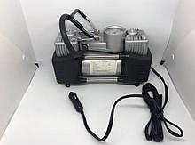 Автомобильный компрессор от прикуривателя 12V, 628 (DOUBLE BAR GAS PUMP) 200 PSI,