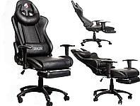 Компютерне крісло геймерське ZANO DRAGON BLACK