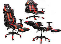 Компьютерное крісло ігрове кресло для геймеров ZANO DRAGON RED