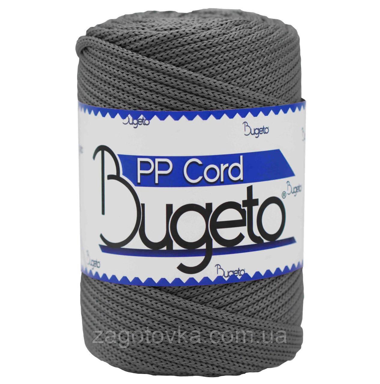 Полипропиленовый шнур Bugeto PP Cord 5mm, Серый