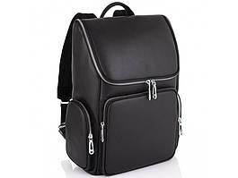 Кожаный мужской рюкзак Tiding Bag N2-191228-3A Черный