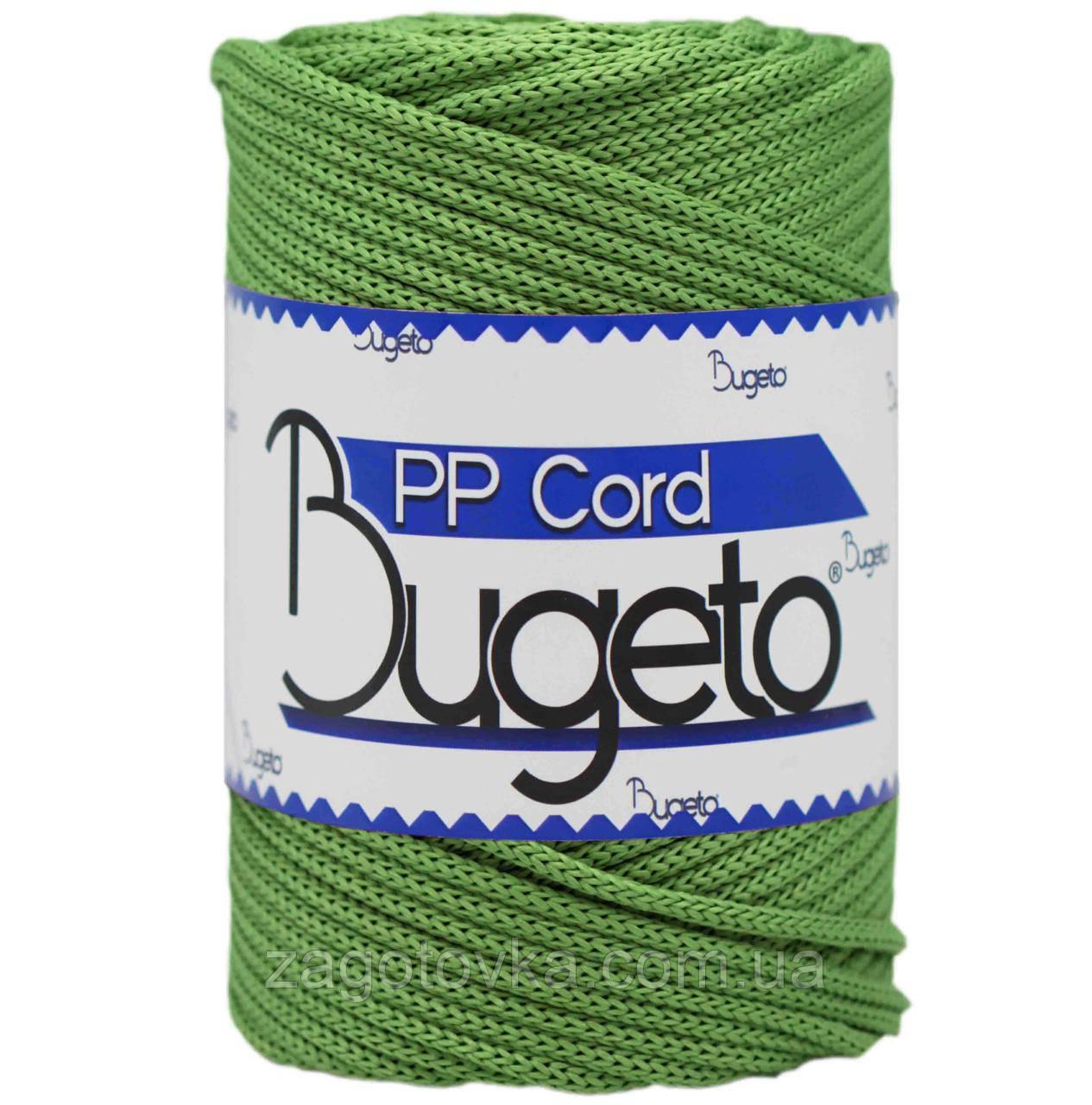 Полипропиленовый шнур Bugeto PP Cord 5mm, Зеленый