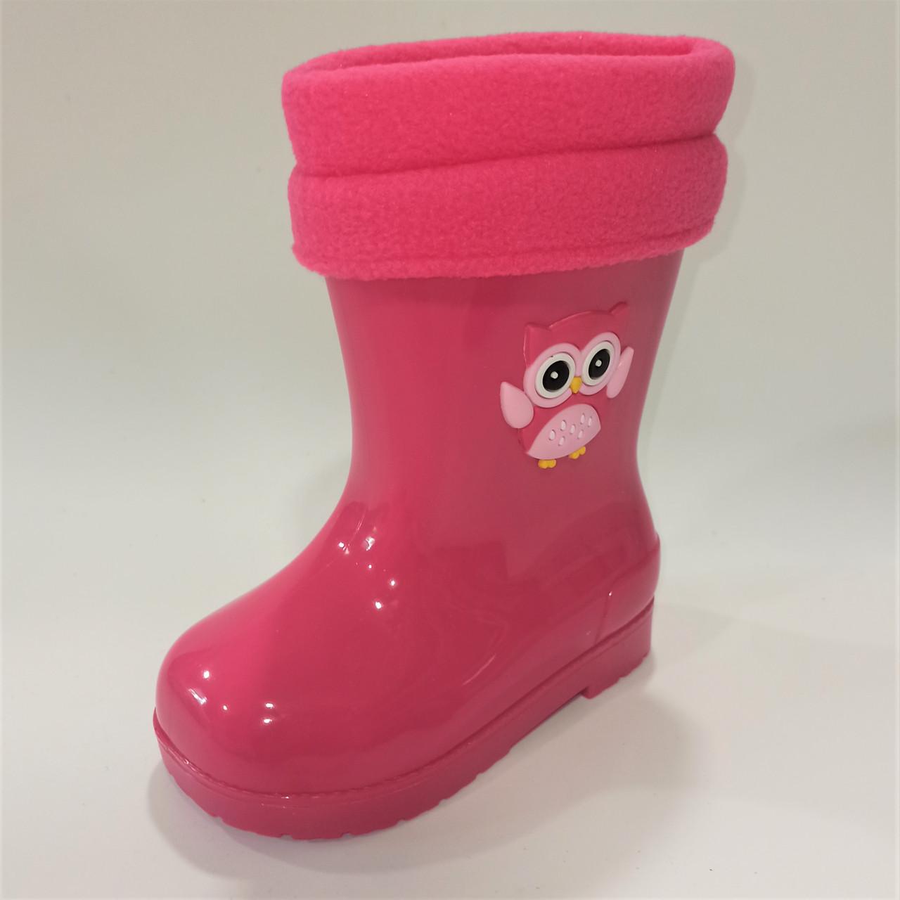 Гумові чоботи з чобітком, Flamingo розміри: 24-28