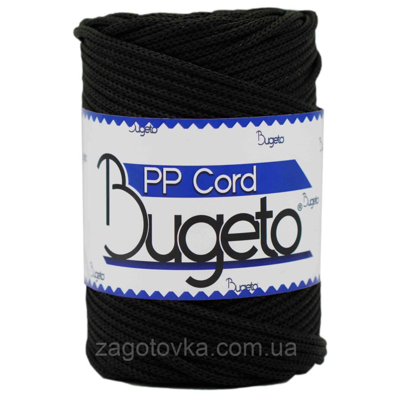 Полипропиленовый шнур Bugeto PP Cord 5mm, Черный