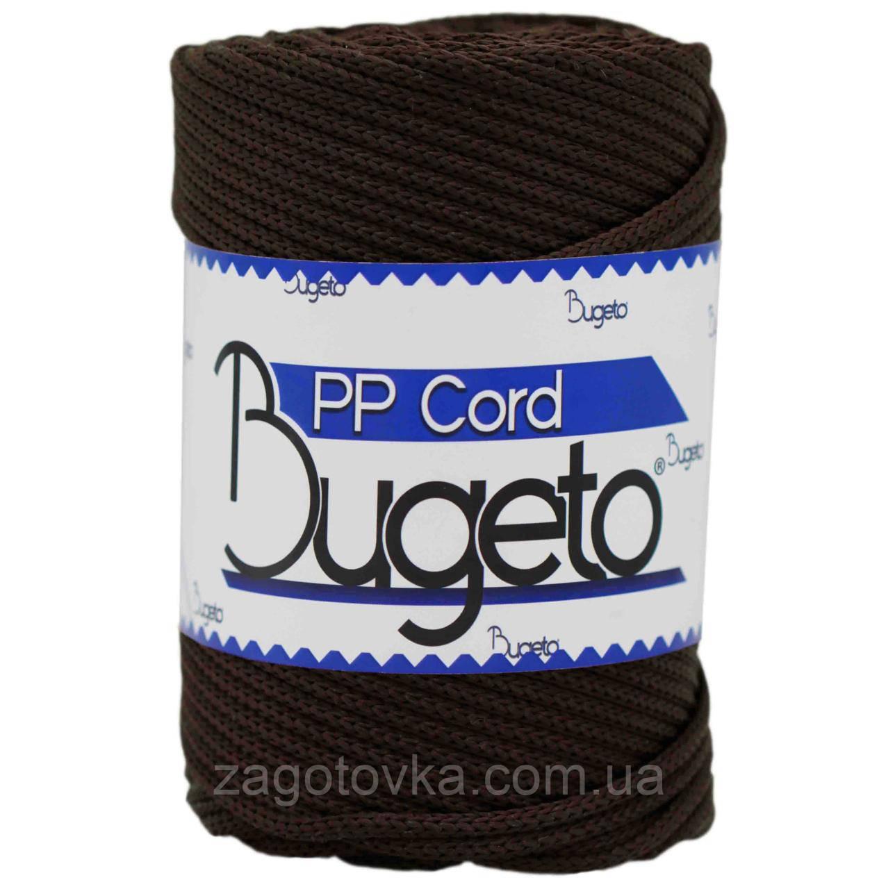 Шнур поліпропіленовий Bugeto PP Cord 5mm, Чорний шоколад
