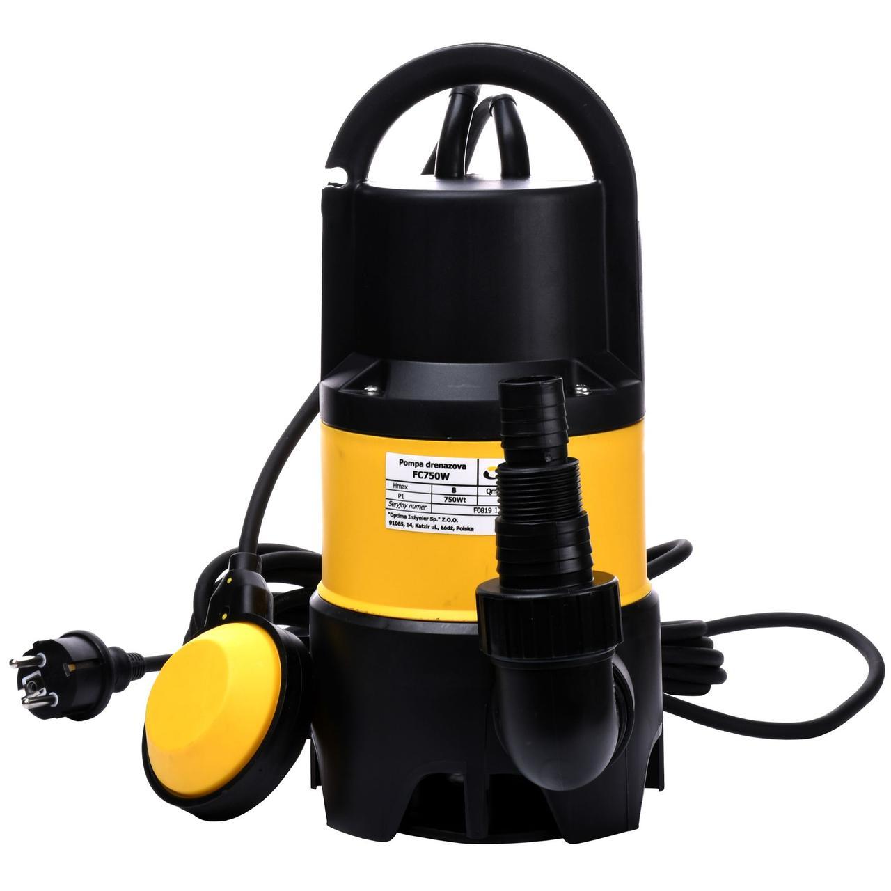 Насос дренажний Optima FC750W 0,75 кВт