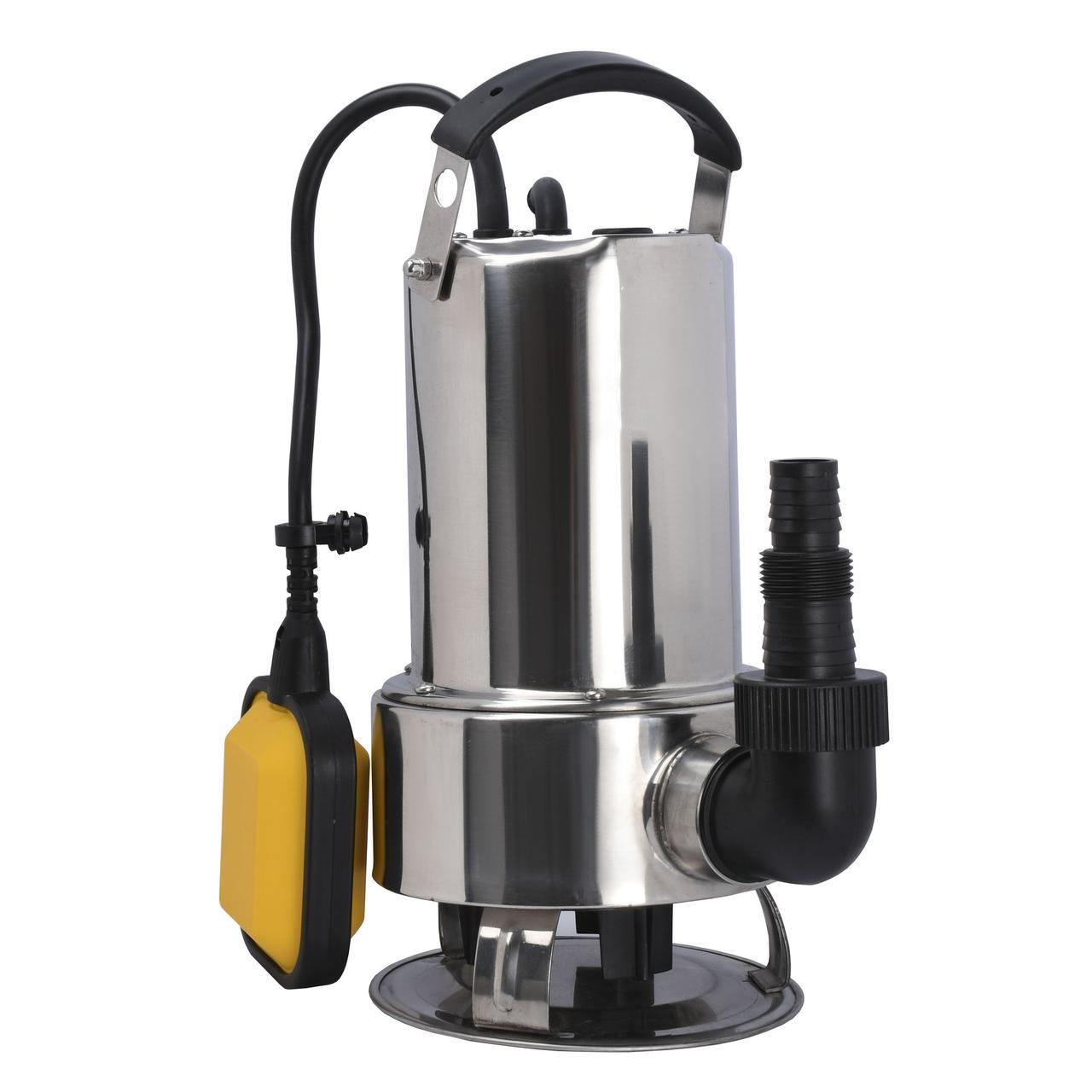Насос дренажний Optima Q550B52R 0,55 кВт для брудної води нерж,