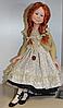 """Авторские куклы Ирины Качарава """"Ягодка"""",   Фимо, 2013 год.  Авторская работа.  Единственный экземпляр.  Находится в частной коллекции."""