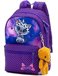 Рюкзак дошкольный для девочек SkyName 1107