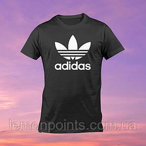 Футболка мужская спортивная Adidas черная