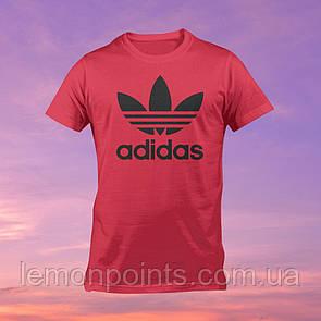 Футболка мужская спортивная Adidas красная