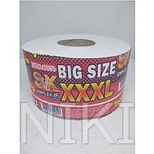 """Туалетний папір """"BIG SIZE"""" з тисненням 12шт./уп.."""