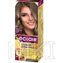 """Фарба для волосся Éclair з маслом """"OMEGA 9"""" 33 Лісовий горіх"""