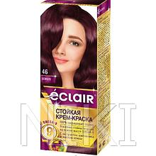 """Фарба для волосся Éclair з маслом """"OMEGA 9"""" 46 Божоле"""
