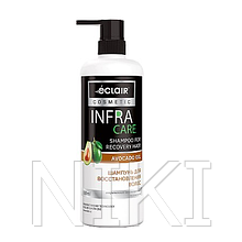 "Шампунь ""INFRA CARE"" 900 мл для відновлення волосся (shampoo for recovery hair) Avocado oil"