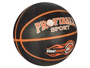 М'яч баскетбольний розмір 7, гума, 580-600гр., 12 панелей, в кул. VA 0056 (30)
