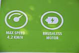Садовая тележка самоходная аккумуляторная Greenworks G40GCK4 бесщеточная с АКБ 4 Ач и ЗУ, фото 8