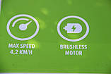 Садовий візок самохідний акумуляторний Greenworks G40GCК4 безщітковий з АКБ 4 Аг та ЗП, фото 8
