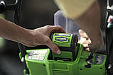 Садовая тележка самоходная аккумуляторная Greenworks G40GCK4 бесщеточная с АКБ 4 Ач и ЗУ, фото 4