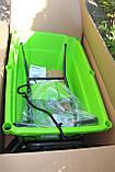 Садовий візок самохідний акумуляторний Greenworks G40GCК4 безщітковий з АКБ 4 Аг та ЗП, фото 10