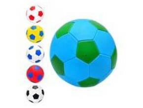 М'яч футбольний розмір 5, ПВХ 1,6 мм., 2 шари, 32 панелі, 300-320гр. EV 3165 (30)