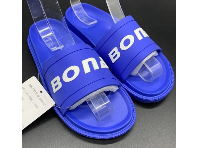 Шлепки * Bona 8017 голубой