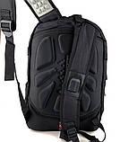 Городской рюкзак Swissgear 46 x 31 x 23 см Черный c серым (sw1792), фото 2