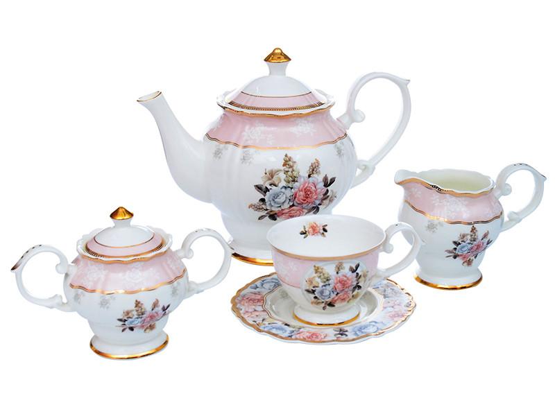 Чайный набор Lefard Цветы на 15 предметов 586-349