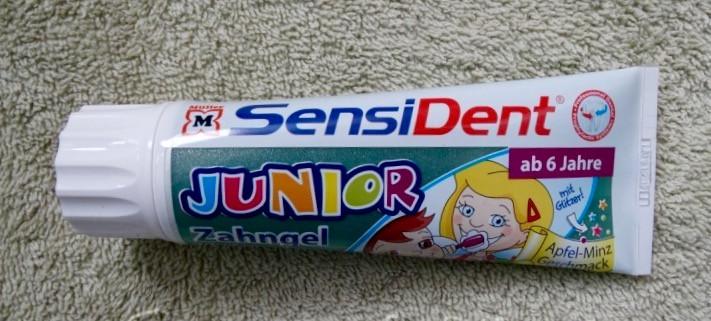 SensiDent Zahngel Junior  Зубная паста Sensident для детей от 6 лет  75ml