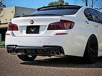 Накладка заднего бампера BMW 5 F10 M-Pakiet