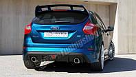 Бампер задний Ford Focus MK3 (в стиле Focus RS 2015) дорест.