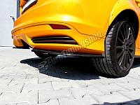 Накладки на задний бампер Ford Focus MK3 ST дорест., фото 1
