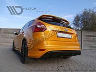 Накладка задняя Ford Focus MK3 (в стиле Focus RS 2015) дорест.