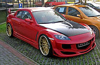 Бампер тюнинговый Mazda RX8