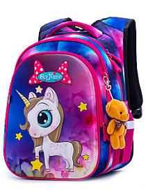 Рюкзак школьный для девочек SkyName R1-013